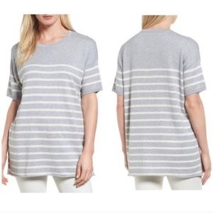 Eileen Fisher Organic Striped Sweater